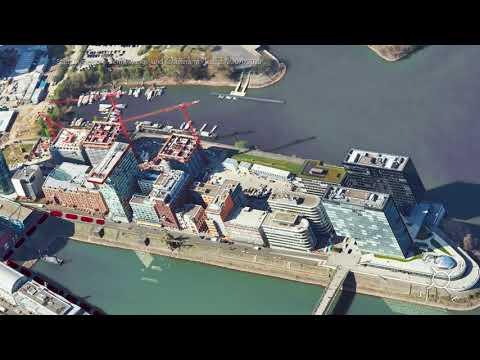 Exkursion zum Medienhafen Düsseldorf - EBZ Business School - DIE Immobilienhochschule