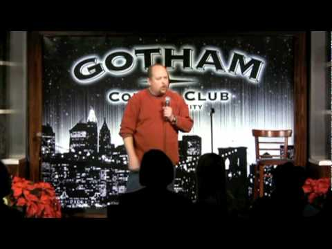 Todd Young performing at Gotham Comedy Club in NYC