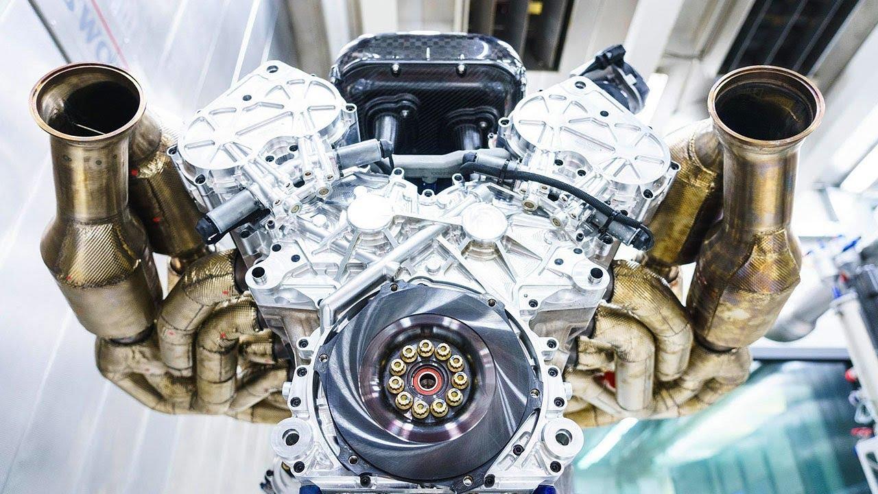 Aston Martin Valkyrie S 1 000bhp V12 Engine Top Gear Youtube