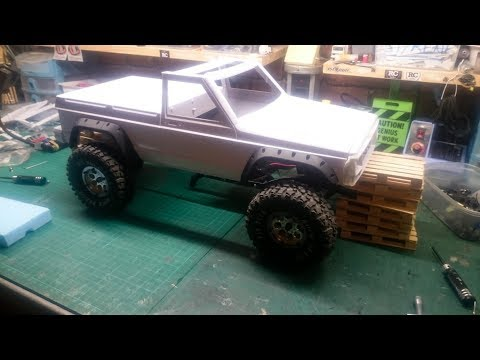 Jeep Comanche pickup truck scale 1/10 New project unboxing