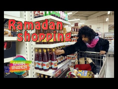 Ramadan Shopping | Rahim Pardesi | Desi Tv Entertainment