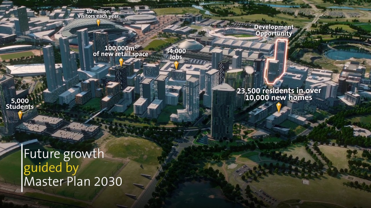 Next Generation Development Opportunity 2A 2B Australia Ave Sydney Olympic Park