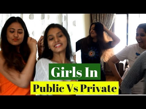 Girls in Public Vs Private | Captain Nick
