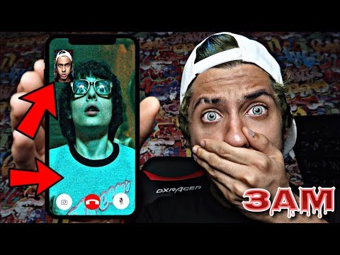 DO NOT FACETIME RICHIE FROM IT MOVIE AT 3AM!! *OMG HE ACTUALLY CAME TO MY HOUSE*