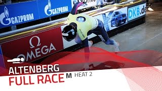 Altenberg | BMW IBSF World Cup 2016/2017 - Men's Skeleton Heat 2 | IBSF Official