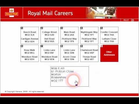Royal Mail SortTest