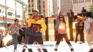 Chris Brown - Turn Up The Music on Today Show performance 6/8/2012