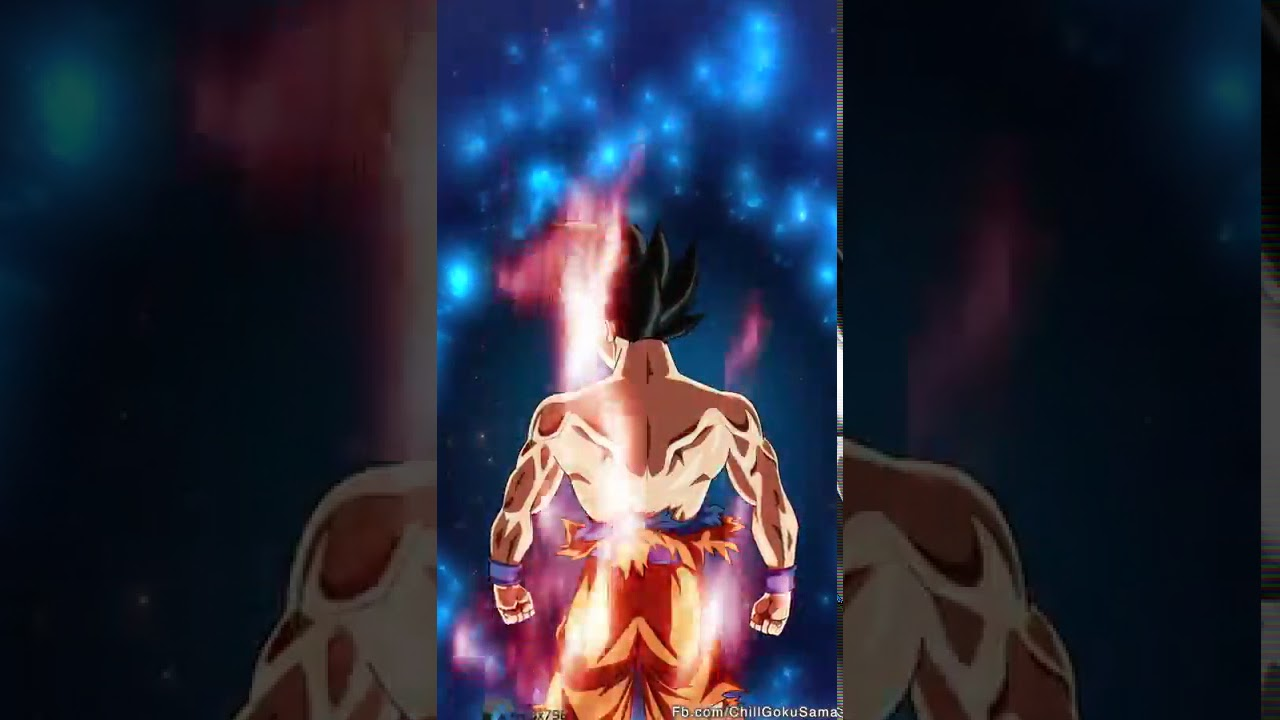 Goku ultra instinct live wallpaper - YouTube
