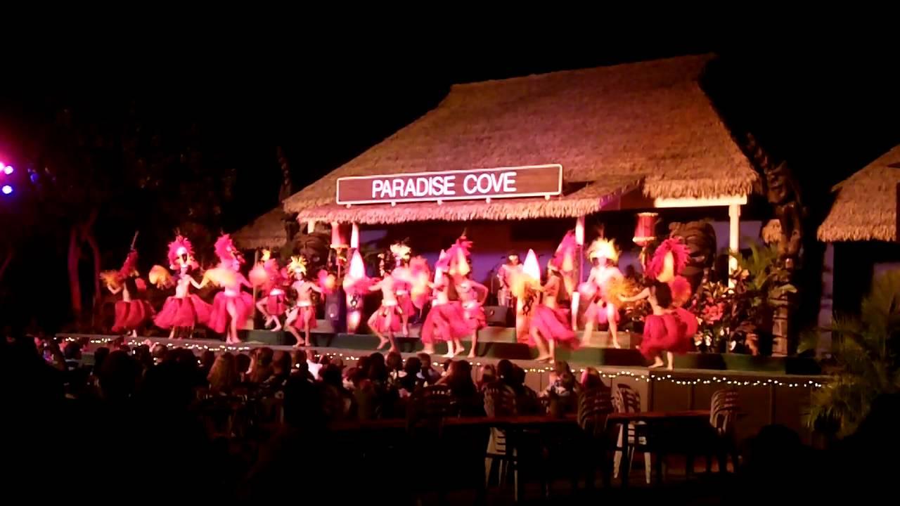 Paradise cove luau menu - b6ef2