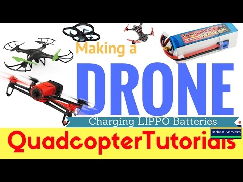 Charging Lipo Batteries - Making Drone
