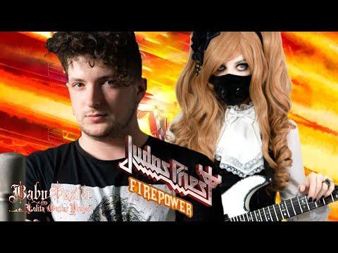 【Judas Priest】 - 「Firepower」COVER † BabySaster & Tasos Lazaris