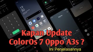 Latest Oppo A3s Update CPHI803EX II_ A_22   can it be colorOs 6. or not ??.