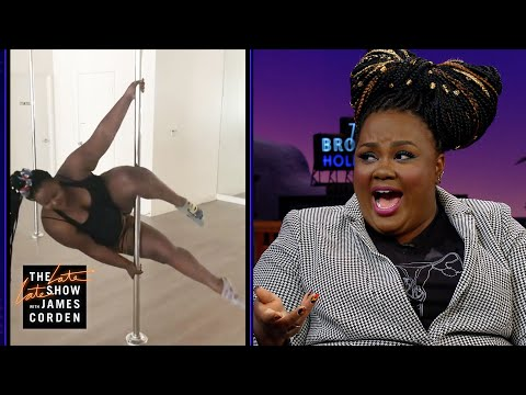 Nicole Byer And Micheal Douglas Judge A 'Nailed It!' Cake-Making Contest On 'Corden'