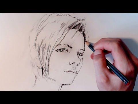 video t cnicas de dibujo profesional dibujar un ojo