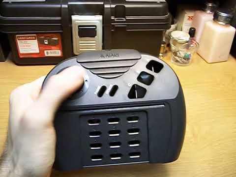 Atari Jaguar clicky thumbstick modification