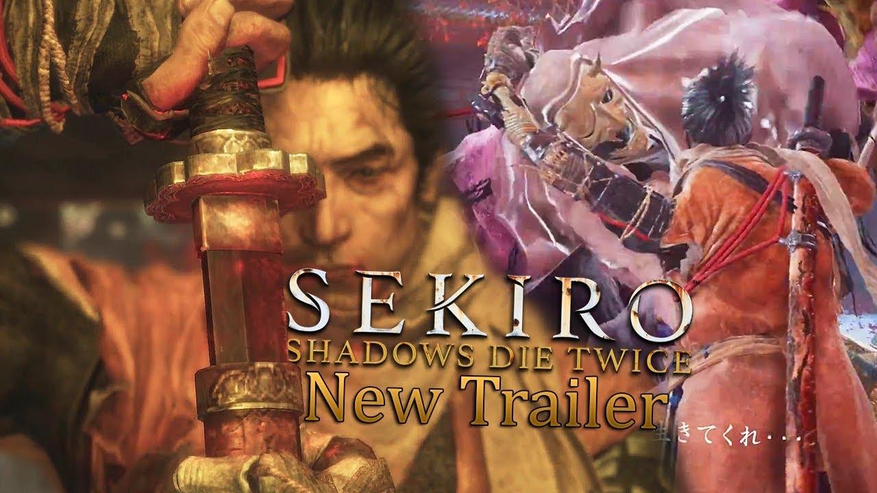 New Sekiro Shadows Die Twice Gameplay Trailer Reaction Breakdown New Bosses