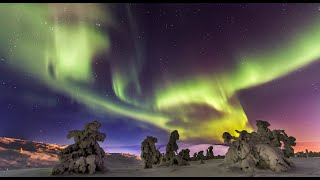 Aurores boréales / aurora borealis en Laponie en Finlande: les faits et les mythes