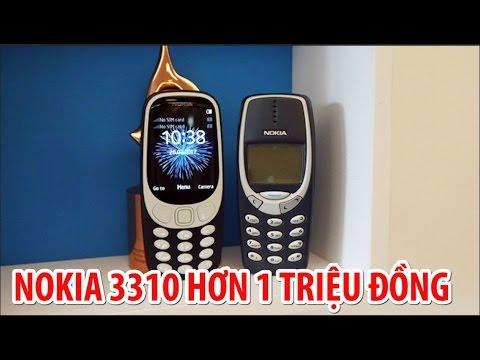 Nokia 3310 2017 CHÍNH THỨC, GIÁ CỰC SỐC Hơn 1 TRIỆU !