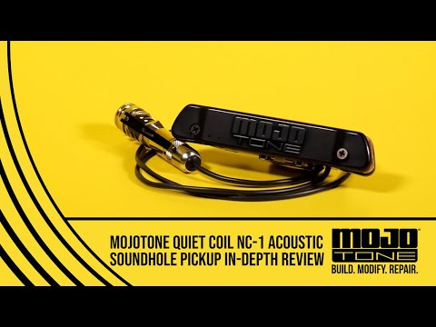 MOJOTONE Quiet Coil NC-1Acoustic Soundhole Pickup In-depth Review with David Shepherd