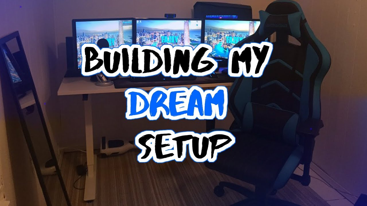 BUILDING MY DREAM GAMING SETUP!