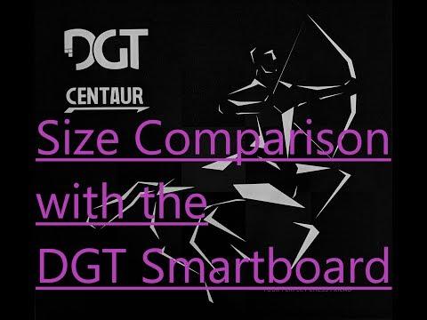DGT Centaur and DGT Smartboard size comparison (video special ending)