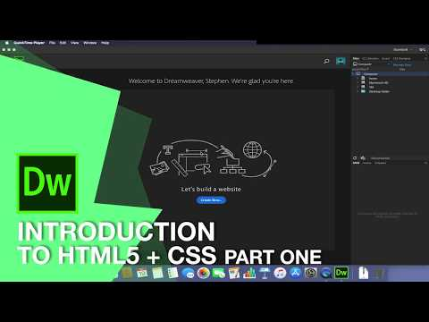 Part 1 - Introduction To HTML & CSS