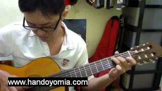 When You Say Nothing At All - Ronan Keating - Fingerstyle Guitar Solo
