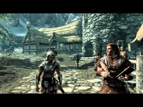 All Skyrim intro dialogue for all races thumbnail