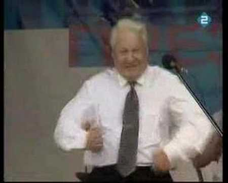 Highlights Boris Yeltsin (Funny moments)