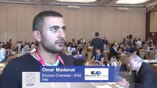 ICEF HE Istanbul - Agent Comment: Omar Madanat, Educom Overseas
