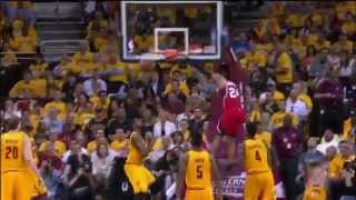 kent bazemore finishes sick reverse slam