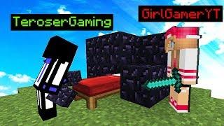 ХОТЕЛ ЗАСТРОИТЬ КРОВАТЬ ДЕВОЧКЕ, А В ИТОГЕ ПОДРУЖИЛСЯ С ПАРНЕМ И ПОСТРОИЛ ДОМ - Minecraft Bed Wars