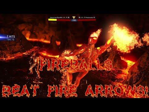 Injustice 2 Online Heroic Matchups! FIREBALL BEATS FIRE ARROWS!