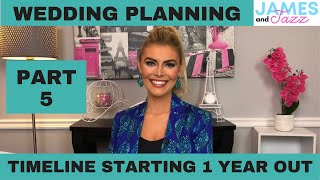 How To Plan My Wedding 101 | Wedding Planning One Year | Where To Start When Planning A Wedding | #5