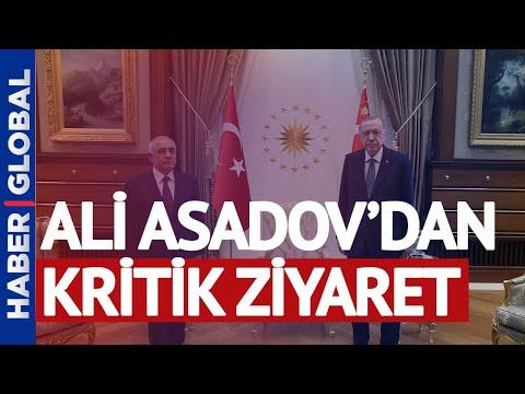 Azerbaycan Başbakanı Ali Asadov'dan Kritik Ziyaret! Cumhurbaşkanı Erdoğan Ve Fuat Oktay İle Görüştü
