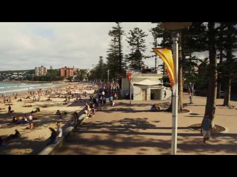 Queenscliff to Manly Beach walk in 4k.