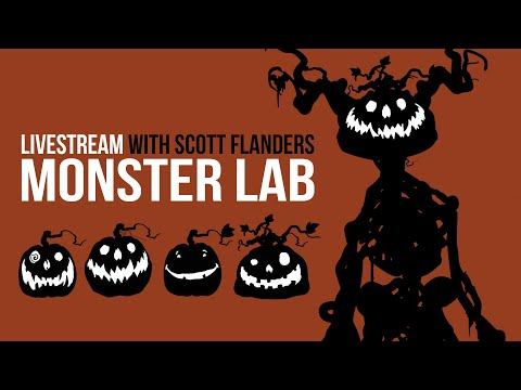 Designing Characters with Scott Flanders (LIVESTREAM)