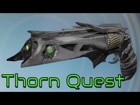 THORN YEAR 3 QUEST \\ DESTINY RISE OF IRON GAMEPLAY