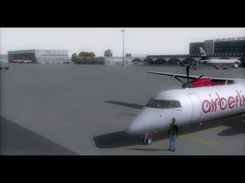 Bombardier Dash 8 Q 400 (High Definition) - Dreamwings Air Berlin
