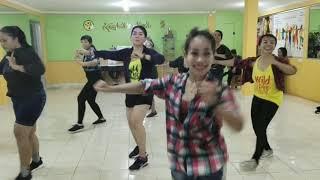 Llego La Hora - Merengue - Zumba fitnes - MM 69 - Choreo By Me