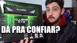 MEMÓRIAS RAM KLLISRE DDR3 E DDR4 DO ALIEXPRESS PRESTAM?