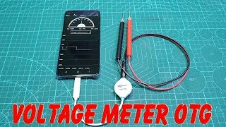Test Voltage Meter OTG Interface Android Phone