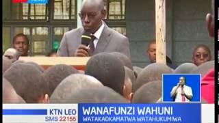 Wanafunzi watatu wa Siakago wafungwa mwaka mmoja gerezani kwa kuchoma shule
