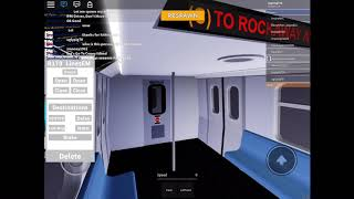 Playing roblox! SUBWAY TRAIN SIMULATOR!
