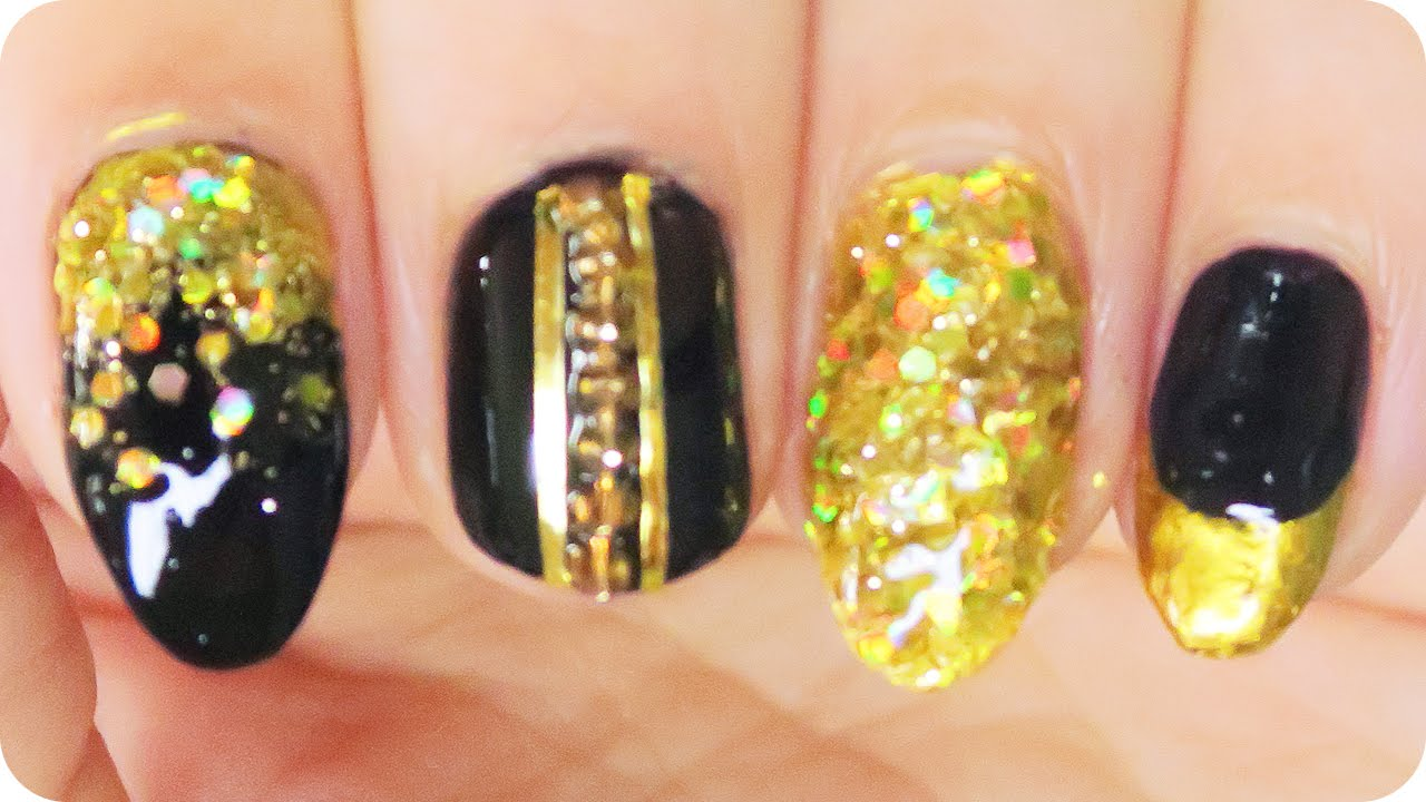 The Huntsman: the Evil Queen inspired Nail Art Tutorial // Movie ...