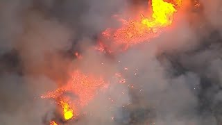 Six major fires continue to burn in Southern California