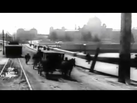 A 1907 film  of Victoria - taken from the front of a streetcar and from the front of boat