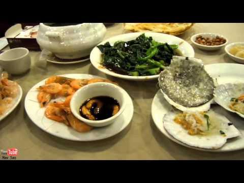 Chinese Seafood Dinner, ShenZhen CHina
