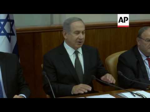 Israel PM Comment On Turkey And Nice Attack