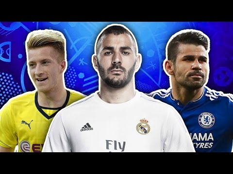 Players Not Going To EURO 2016 XI | Reus, Benzema & Costa!